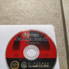 Videojuegos y Consolas: SOLO EL CD SMASH BROS MELEE NINTENDO GAMECUBE GC PAL-EUROPA , ORIGINAL 100%. Lote 288474783
