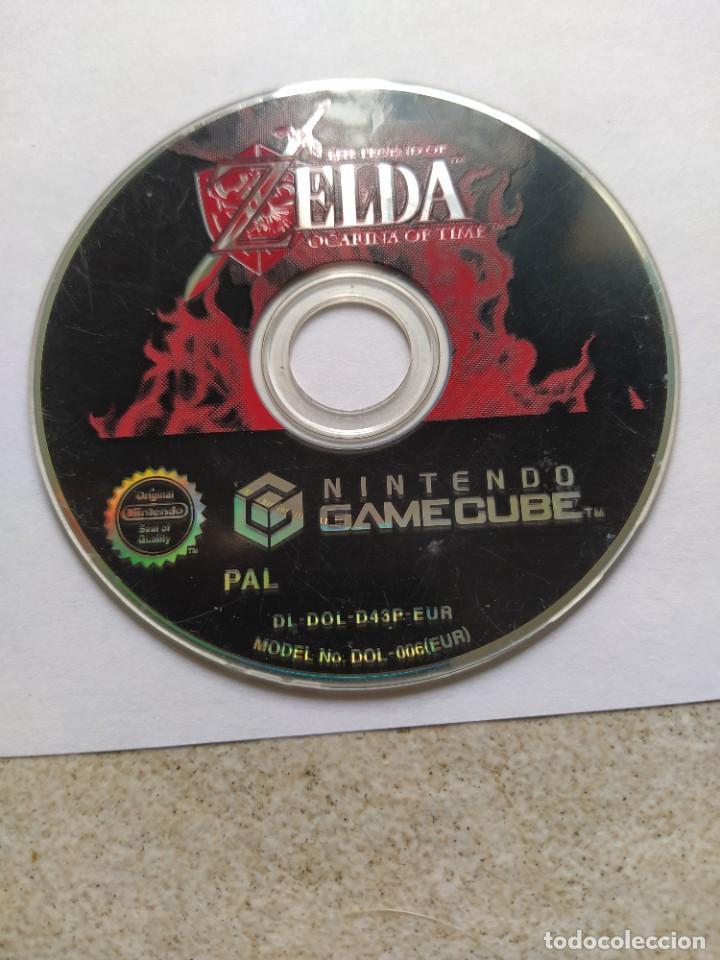 SOLO EL CD ZELDA OCARINA OF TIME NINTENDO GAMECUBE GC PAL-EUROPA , ORIGINAL 100% (Juguetes - Videojuegos y Consolas - Nintendo - Wii)