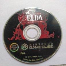 Videojuegos y Consolas: SOLO EL CD ZELDA OCARINA OF TIME NINTENDO GAMECUBE GC PAL-EUROPA , ORIGINAL 100%. Lote 288475013
