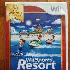 Videojuegos y Consolas: WII SPORTS RESORT NINTENDO PAL ESPAÑA JUEGO COMPLETO EN PERFECTO ESTADO. Lote 288736663