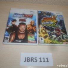 Videojuegos y Consolas: SMACKDOWN VS RAW 2008 + MARIO STRIKERS CHAGED FOOTBALL. Lote 289686723
