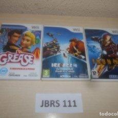 Videojuegos y Consolas: IRONMAN + GREASE + ICE AGE 4. Lote 289687068