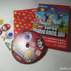 Videojuegos y Consolas: NEW SUPER MARIO BROS. WII( NINTENDO WII - PAL -ESP) (2). Lote 289695498