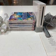Videogiochi e Consoli: LOTE WII CON 6 JUEGOS, MANDOS Y CABLES. Lote 291185358