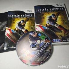 Videojuegos y Consolas: CAPITAN AMERICA - SUPER SOLDADO ( NINTENDO WII - PAL -ESP) (2). Lote 293874498