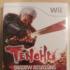 Videojuegos y Consolas: TENCHU SHADOW ASSASSINS WII PRECINTADO. Lote 293930848