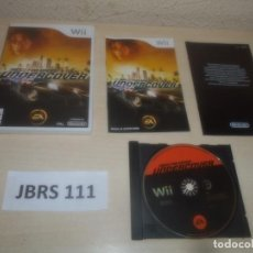 Videojuegos y Consolas: WII - NEED FOR SPEED UNDERCOVER , PAL ESPAÑOL , COMPLETO. Lote 294001823