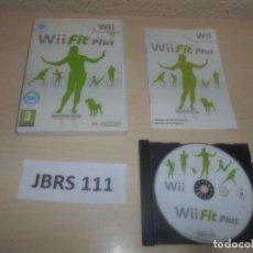 Videojuegos y Consolas: WII - WII FIT PLUS , PAL ESPAÑOL , COMPLETO. Lote 294002013
