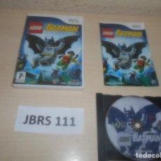 Videojuegos y Consolas: WII - LEGO BATMAN , PAL ESPAÑOL , COMPLETO. Lote 294002198