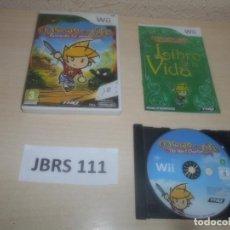 Videojuegos y Consolas: WII - DRAWN TO LIFE , PAL ESPAÑOL , COMPLETO. Lote 294002258