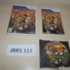 Videojuegos y Consolas: WII - LEGO INDIAN JONES 2 , PAL ESPAÑOL , COMPLETO. Lote 294002348
