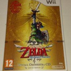 Videojuegos y Consolas: ZELDA SKYWARD SWORD LIMITED EDITION CD NINTENDO WII PAL ESPAÑA PRECINTADO. Lote 294940243