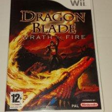 Videojuegos y Consolas: DRAGON BLADE WRATH OF FIRE NINTENDO WII PAL ESPAÑA. Lote 294941758