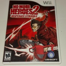 Videojuegos y Consolas: NO MORE HEROES 2 DESPERATE STRUGGLE NINTENDO WII USA. Lote 294942743