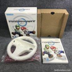 Videojuegos y Consolas: MARIO KART WII JAP+WHEEL NINTENDO WII. Lote 295382418
