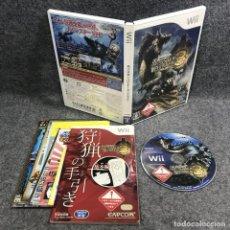 Videojuegos y Consolas: MONSTER HUNTER 3 JAP NINTENDO WII. Lote 295382478