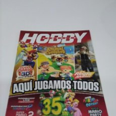 Videojuegos y Consolas: REVISTA HOBBY CONSOLAS. AQUÍ JUGAMOS TODOS.. Lote 295783188