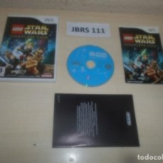 Videojuegos y Consolas: WII - LEGO STAR WARS - THE COMPLETE SAGA , PAL ESPAÑOL , COMPLETO. Lote 295947238