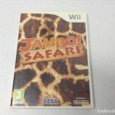 Videojuegos y Consolas: JAMBO! SAFARI. Lote 295996753