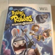 Videojuegos y Consolas: VIDEOJUEGO NINTENDO WII - RAVING RABBIDS - REGRESO AL PASADO. Lote 296558918