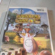 Videojuegos y Consolas: JUEGO WII CHICKEN SHOOT. Lote 296559018