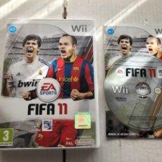 Videojuegos y Consolas: FIFA 11 NINTENDO WII KREATEN. Lote 296588523