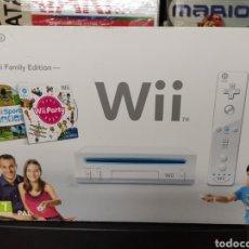 Videojuegos y Consolas: WII FAMILY EDITION 1 EDICIÓN WII. Lote 296710668