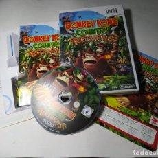 Videojuegos y Consolas: DONKEY KONG COUNTRY RETURNS ( NINTENDO WII - PAL -ESP) (1). Lote 296711723