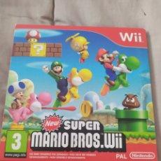 Videojuegos y Consolas: NEW SUPER MARIO BROS WII. Lote 296957468