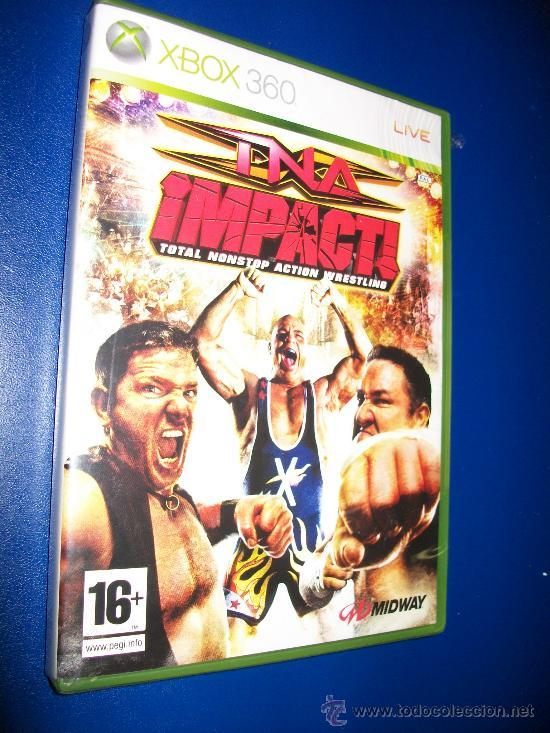XBOX 360 - TNA IMPACT! TOTAL NONSTOP ACTION WRESTLING (Juguetes - Videojuegos y Consolas - Microsoft - Xbox 360)