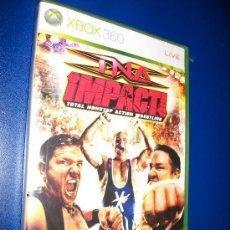 Videojuegos y Consolas: XBOX 360 - TNA IMPACT! TOTAL NONSTOP ACTION WRESTLING. Lote 24110933
