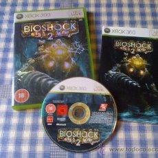 Videojuegos y Consolas: BIOSHOCK 2 JUEGO PARA MICROSOFT XBOX 360 PAL COMPLETO EN ESPAÑOL COMO NUEVO. Lote 26967123