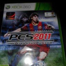 Videojuegos y Consolas: XBOX 360 , PES 2011. Lote 28554016