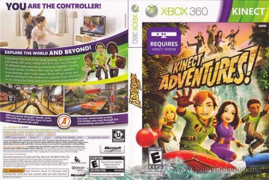 Lote Oferta Juego Xbox360 Kinect Adventures Comprar Videojuegos