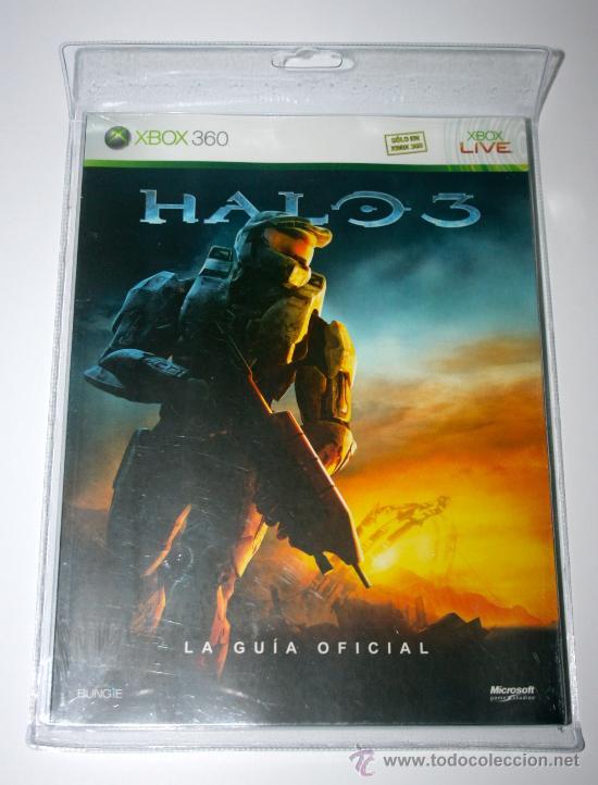 GUIA OFICIAL DE VIDEOJUEGO HALO 3 - DESCATALOGADO - NUEVOS A ESTRENAR (Juguetes - Videojuegos y Consolas - Microsoft - Xbox 360)