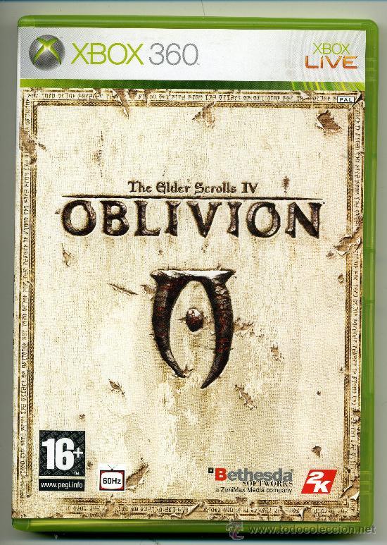 OBLIVION- VIDEOJUEGO XBOX 360 - CON MANUAL (Juguetes - Videojuegos y Consolas - Microsoft - Xbox 360)