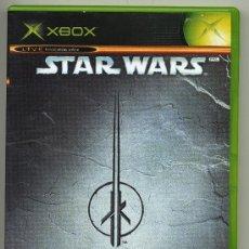 Videojuegos y Consolas: STAR WARS JEDI KNIGHT: JEDI ACADEMY-- VIDEOJUEGO XBOX - CON MANUAL. Lote 30675463