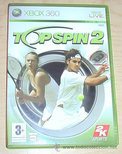 JUEGO XBOX 360. TOP SPIN 2. (Juguetes - Videojuegos y Consolas - Microsoft - Xbox 360)