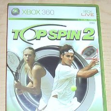Videojuegos y Consolas: JUEGO XBOX 360. TOP SPIN 2.. Lote 30810392