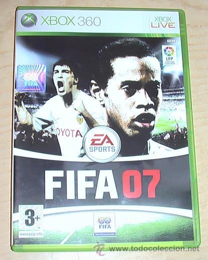 JUEGO XBOX 360. FIFA 07. (Juguetes - Videojuegos y Consolas - Microsoft - Xbox 360)