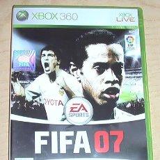 Videojuegos y Consolas: JUEGO XBOX 360. FIFA 07.. Lote 30810439