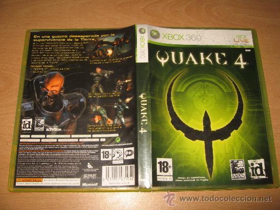 quake 4 - xbox 360 edicion 2 discos bonus con q - Buy Video