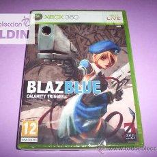 Videojuegos y Consolas: BLAZ BLUE CALAMITY TRIGGER NUEVO PRECINTADO XBOX 360 OFERTA. Lote 27053371