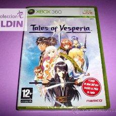 Videojuegos y Consolas: TALES OF VESPERIA NUEVO PRECINTADO XBOX 360. Lote 28426864
