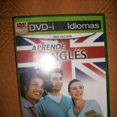 Videojuegos y Consolas: DVD-I IDIOMAS - APRENDE INGLES - INICIACION - APRENDE JUGANDO, SOLO O EN FAMILIA - PRECINTADO. Lote 32647263