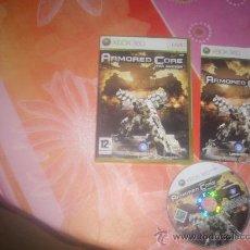 Videojuegos y Consolas: JUEGO XBOX 360 ARMORED CORE. Lote 32869175