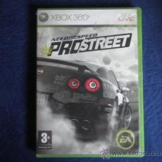 Videojuegos y Consolas: XBOX 360 NEED FOR SPEED PROSTREET. Lote 32937028