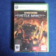 Videojuegos y Consolas: XBOX 360 WARHAMMER BATTLE MARCH. Lote 32937239