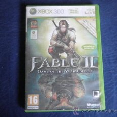 Videojuegos y Consolas: XBOX 360 FABLE II GAME OF THE YEAR EDITION. Lote 32937289