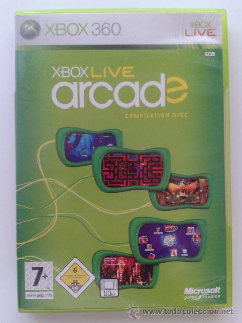 XBOX 360 LIVE ARCADE COMPILATION DISC (Juguetes - Videojuegos y Consolas - Microsoft - Xbox 360)